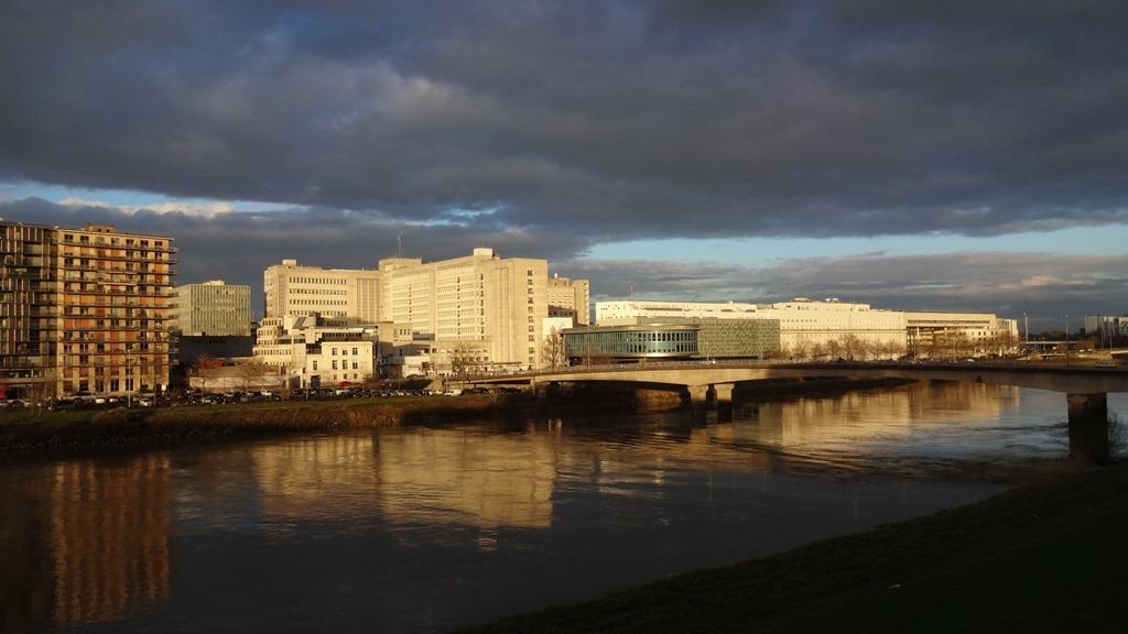 Nantes  Loire Hiver