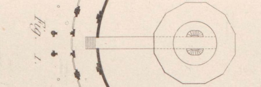 Couloir et distribution des escaliers - Hittorff - 1842
